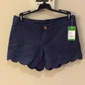 NWT Lilly Pulitzer Navy Buttercup Short sz 0